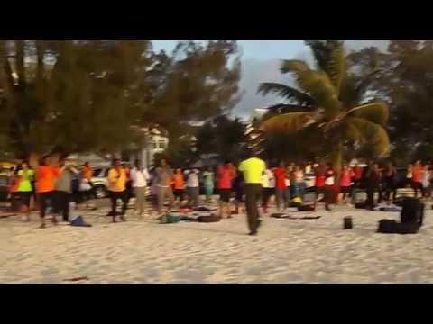 Outdoor Fitness Bahamas Easter Holiday Workout!