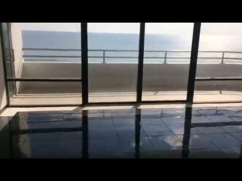 Florida Ocean front condo for sale Daytona Beach Shores Huge Balcony