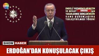 Erdoğan'dan çok konuşulan çıkış