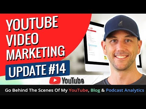 YouTube Video Marketing Update #14! Go Behind The Scenes Of My YouTube, Blog & Podcast Analytics