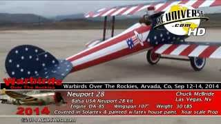 Warbirds Over The Rockies 2014 - Neuport 28, Chuck McBride