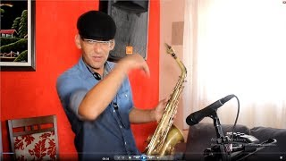 Every Beat Of My Heart Rod Stewart Cover Sax Elias Lima