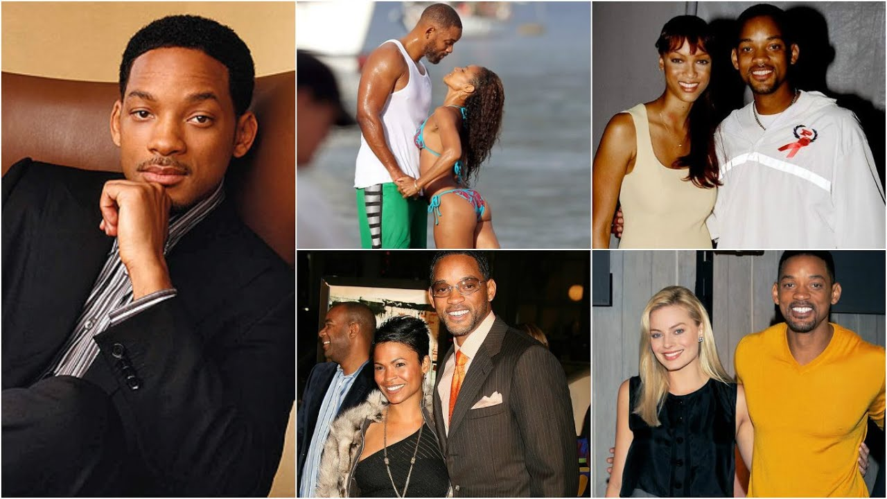 Girls Will Smith Dated - YouTube