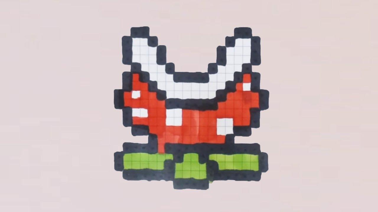 Comment Dessiner La Plante De Mario En Pixel Art