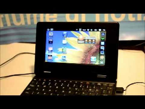 Netbook Android 2.2 Froyo via 8650 800mhz