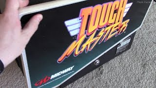 Repair of a Midway Touchmaster 7000 Bar Arcade Machine