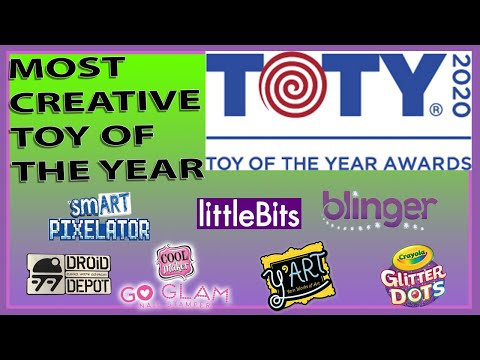 Most Creative Toy of The Year 2020 Nominees | The Toy Association | The Toy Foundation
