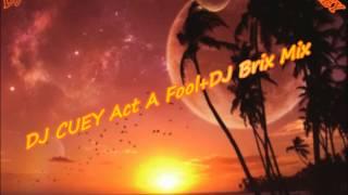 DJ CUEY Act A Fool Mix