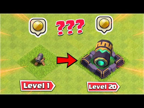 All Defense Upgrade Cost - Clash of Clans