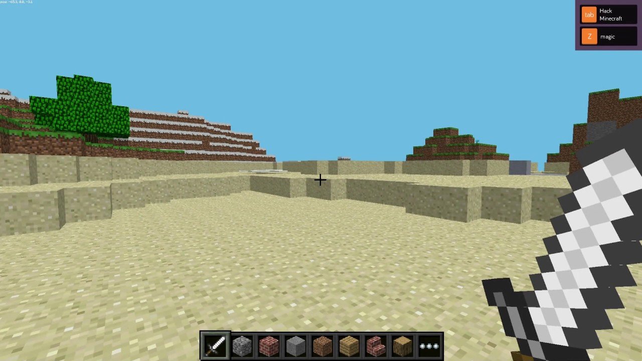 Hack Minecraft in Kano OS 3.8