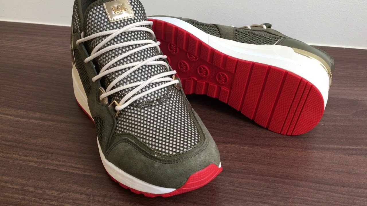 Michael Kors - Scout Trainer Olive