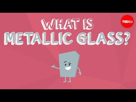 Video image: What is metallic glass? - Ashwini Bharathula