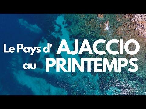 Le PAYS d'AJACCIO au PRINTEMPS : Road Trip en CORSE du SUD