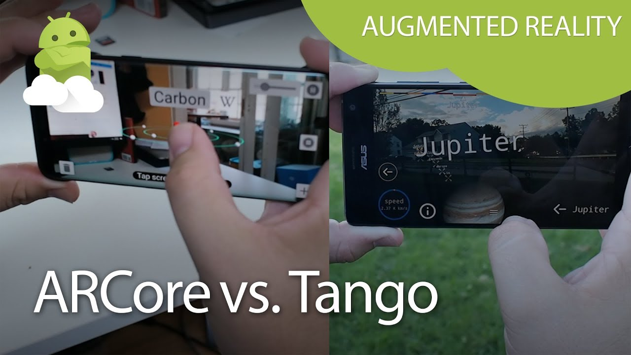 What's the difference between Tango and ARCore? | Android