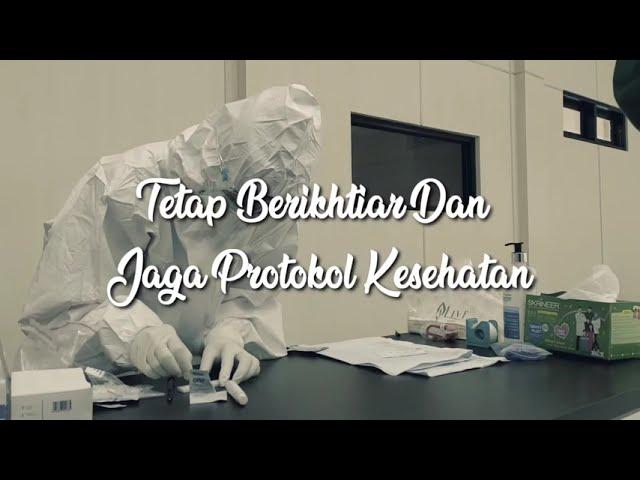 RAPID TEST COVID-19 seluruh pegawai LPMP DKI Jakarta, Tanggal 7 September s.d 9 September 2020.