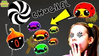 СМЕШНАЯ ИГРА про Черного ЗВЕРЬКА ЧУЧЕЛ #5 Chuchel! Чучел против МОНСТРА Космический БОЙ