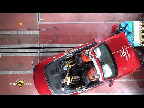 Euro NCAP Crash Test Of Mercedes Benz C Class Cabriolet