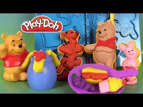 Play Doh Winnie l'ourson Pâte à modeler Le pique-nique de Winnie et ses amis Pooh 'N Friends Picnic