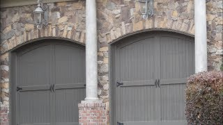 Overhead Garage Doors Styles - Part 1 - Home Improvement, Build Houses, Custom Build Homes