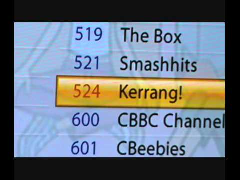Freesat The Box. Smashhits. Kiss. and Kerrang!. is Now Available