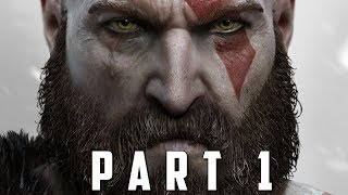 GOD OF WAR Walkthrough Gameplay Part 1 - INTRO (God of War 4) thumbnail
