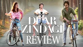 Dear Zindagi OFFICIAL Movie Review Starring Alia Bhatt , Shahrukh Khan