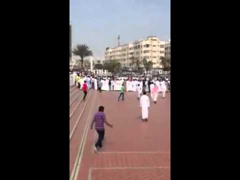 Saudi blogger Raif Badawi received the first 50 lashes outside a Mosque in Jeddah
