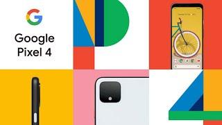 Google Pixel 4 launch in 18 minutes