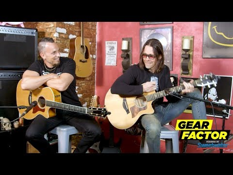 Alter Bridge's Mark Tremonti + Myles Kennedy Play Their Favorite Riffs