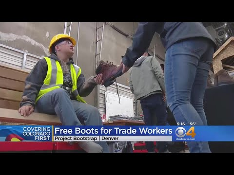 Program Provides Free Boots For Colorado Trade Works