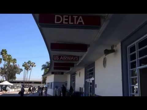Mini tour of Long Beach Airport, California