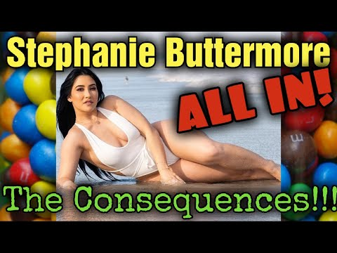 Stephanie Buttermore - Why Her ALL IN Diet FAILED!!! Self-Esteem & Body Image Destroyed!!!