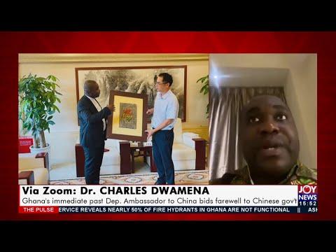 Ghana's immediate past Dep. Ambassador to China bids farewell to Chinese gov't (16-7-21)