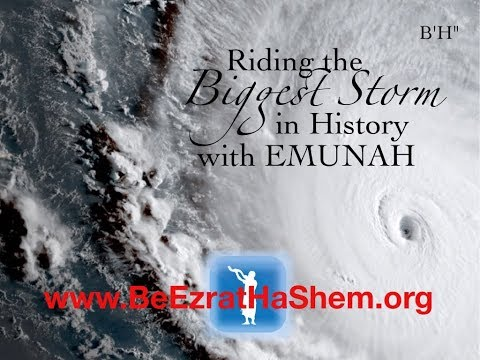 Mussar Pirkei Avot (61) Riding The Biggest Storm In History with Emunah