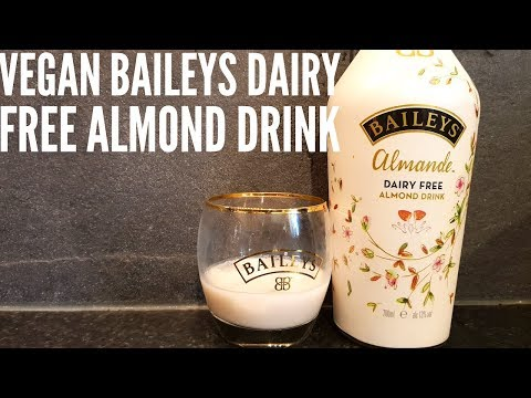 Vegan Baileys Almande Dairy Free Almond Drink | Gluten Free Baileys Irish Cream