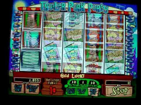 Trailer park party slot machine