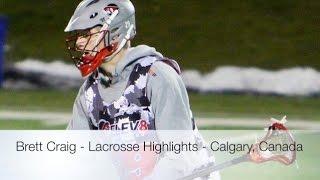 2014 Brett Craig - Lacrosse Highlights