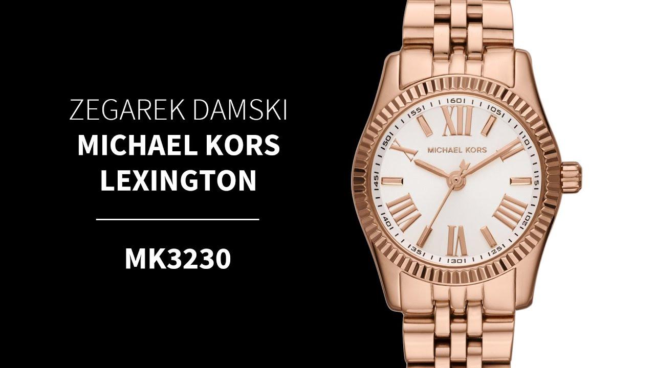 Zegarek damski Michael Kors Lexington