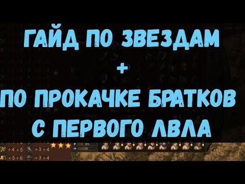 Battle Brothers WotN: Гайд для новичков по звездам+ по прокачке братков с первого уровня