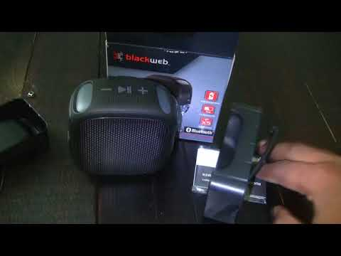 Repeat Blackweb Rugged Bluetooth Speaker Unboxing by iiTs