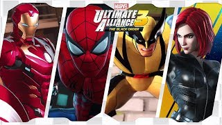 Marvel Ultimate Alliance 3: The Black Order for Switch ᴴᴰ (2019) Full Playthrough