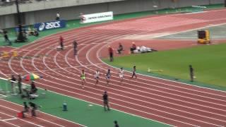 100m予選2組 宮崎久 10.54 2011日本選手権 北村拓也 10.54