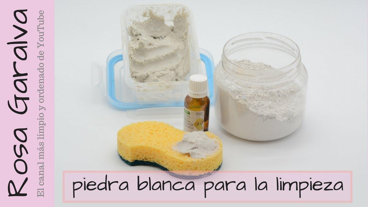 C mo hacer piedra blanca para limpieza casera youtube for Piedra blanca limpieza mercadona
