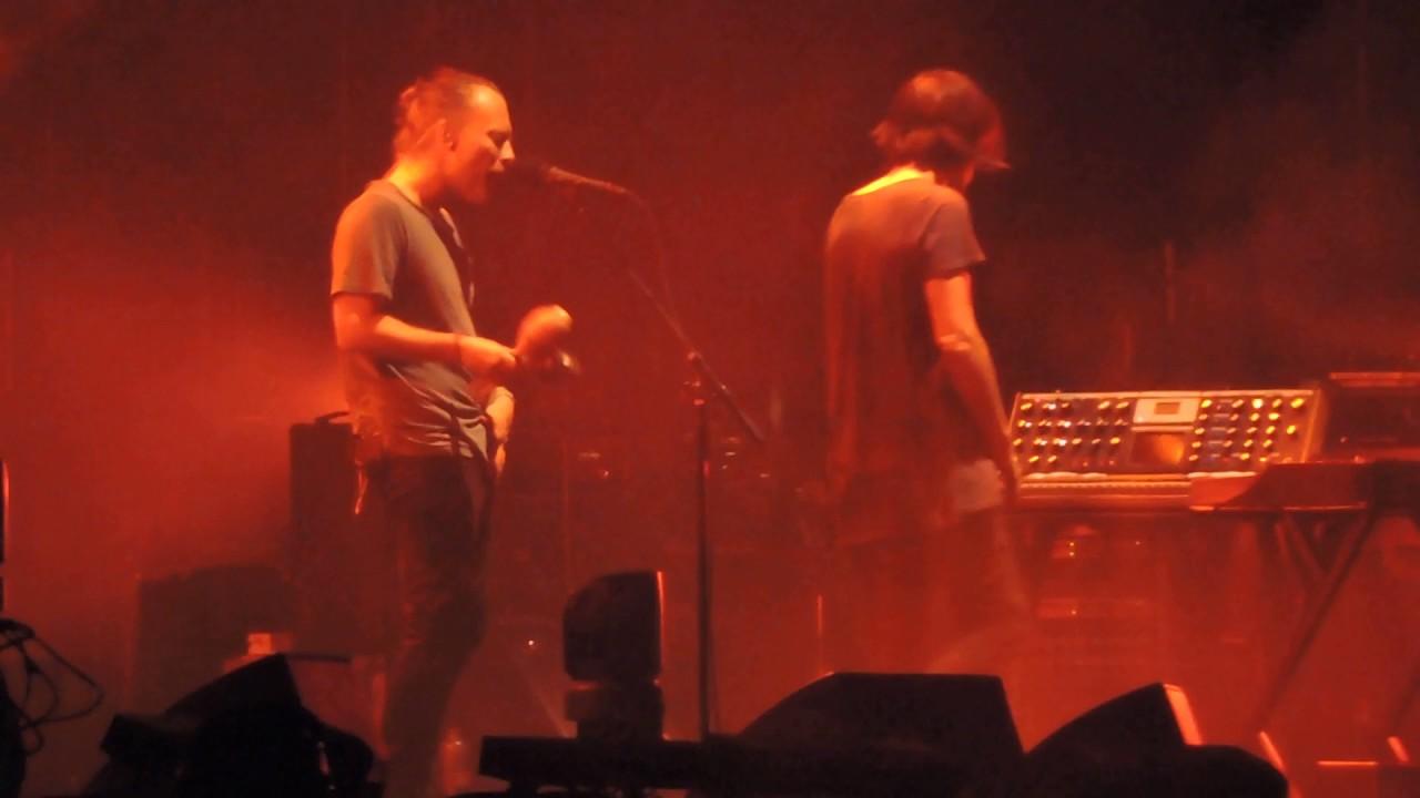 Radiohead Lotus Flower Live Monza I Days Festival 1662017 Youtube
