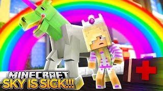 IS SKYE GOING TO DIE w/ LITTLE DONNY???- Minecraft - Baby Leah Adventures.