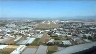 Cockpit video of a landing at Antalya airport (AYT)(, 2015-10-22T11:57:17.000Z)