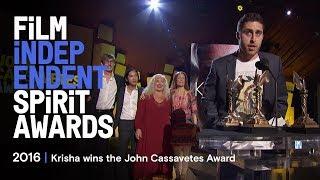 Krisha wins the John Cassavetes Award at the 2016 Film Independent Spirit Awards thumbnail