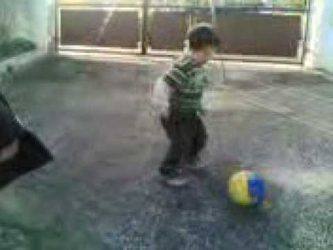 Messi Hitting Ronaldo