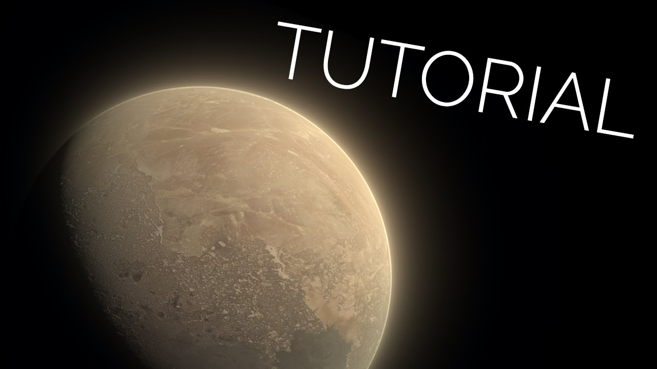 Tutorial: Quick and Easy Planet in Cycles (Blender 2 76)