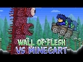 Wall Of Flesh VS Minecart | Terraria Fun Ways 2 Kill A Boss #1